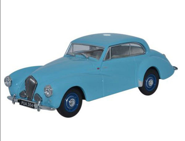 HT003 OXFORD HEALEY Tickford  1953 pale blue
