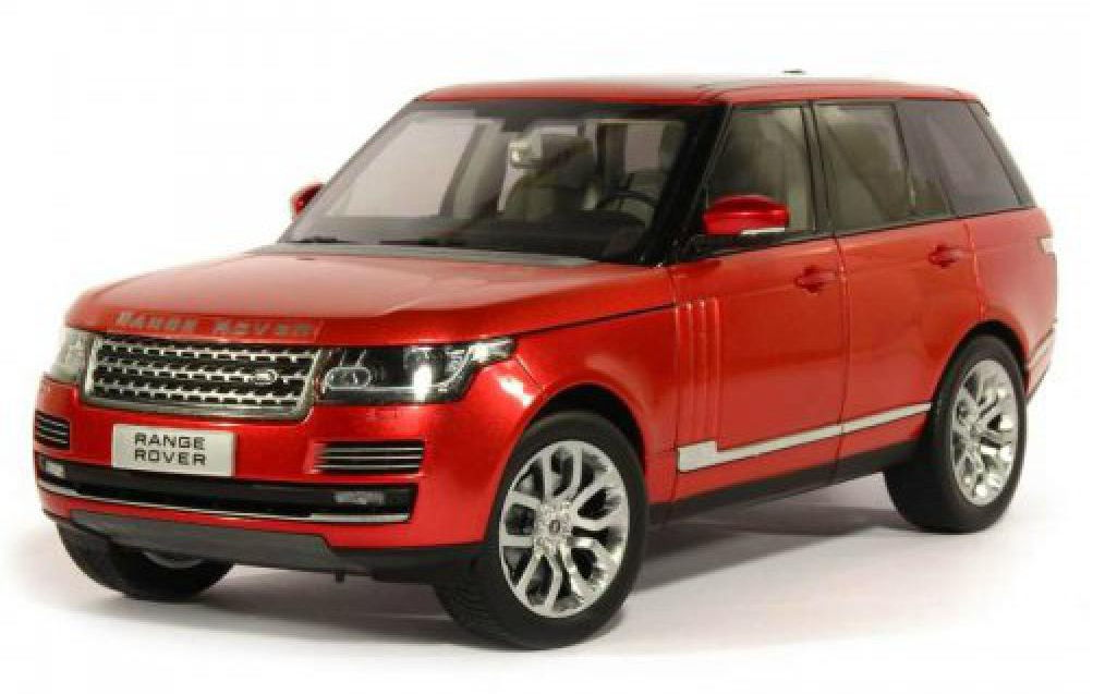 11006MB-RT GT AUTOS WELLY RANGE ROVER Vogue 2013 red