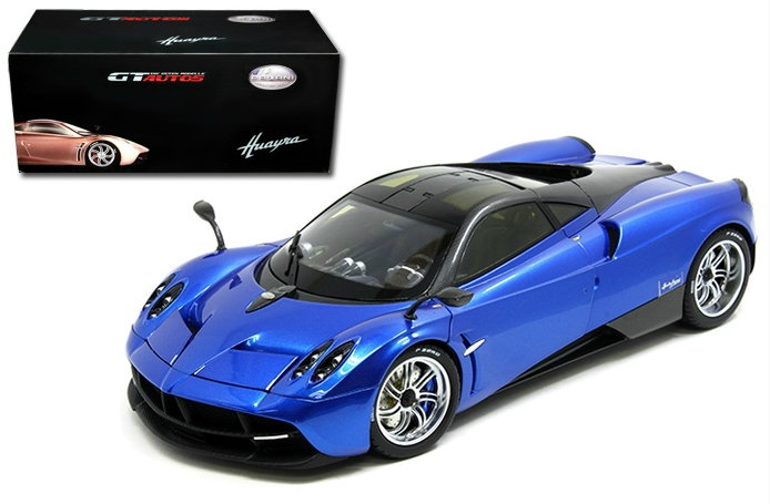 11007BL GT AUTOS WELLY GT AUTOS 1/18 PAGANI Huayra 2012 metallic blue