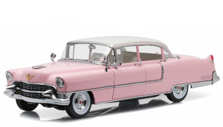 12950 GREENLIGHT GREENLIGHT 1/18 CADILLAC Fleetwood Series 60 Elvis Presley Pink Cadillac 1955