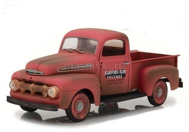 12997 14+ GREENLIGHT GREENLIGHT 1/18 FORD F-1 пикап (из т/с Санфорд и сын) 1952