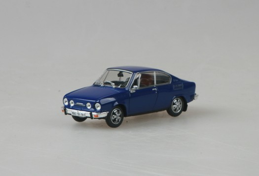 143ABS707KN ABREX SKODA 110R Coupe 1978 blue