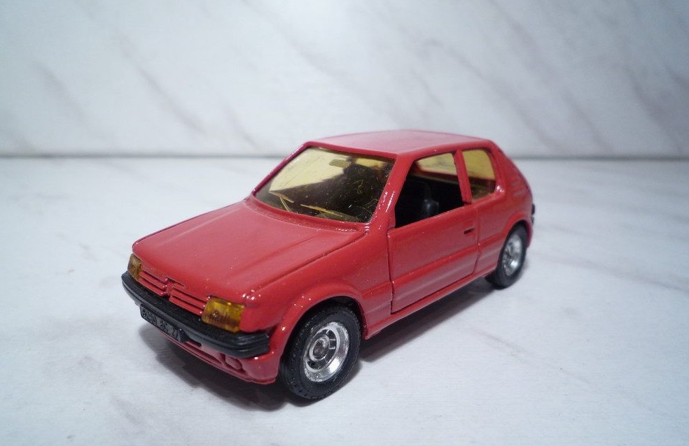 1508 SOLIDO PEUGEOT 205 GT