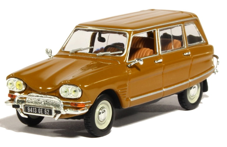 153520 NOREV NOREV 1/43 CITROEN Ami 6 Club Break 1968 dark gold