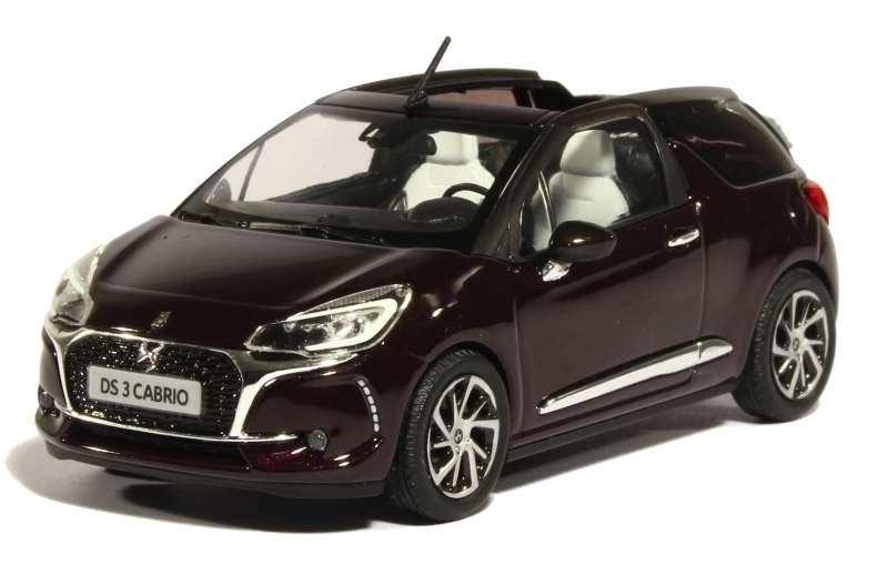 155262 NOREV NOREV 1/43 CITROEN DS3 Convertible (рестайлинг) 2016 whisper purple