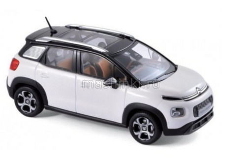 155327 14+ NOREV NOREV 1/43 CITROEN C3 Aircross кроссовер 2017 pearl white/black
