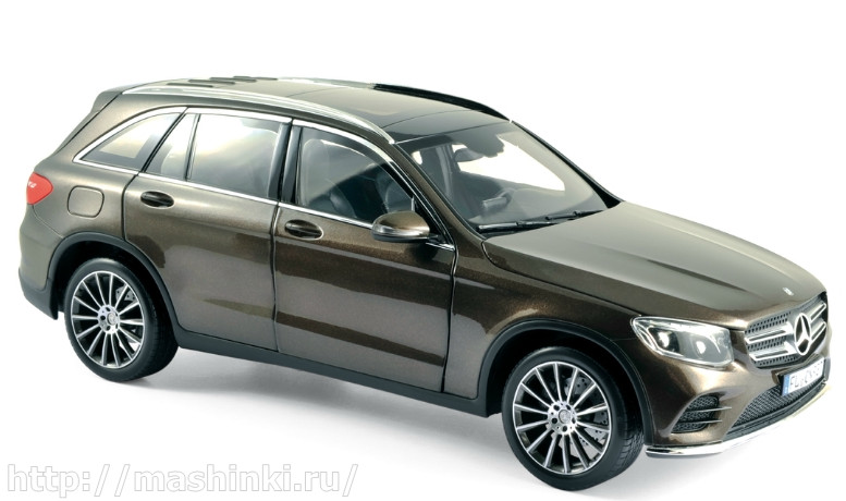 183487 NOREV NOREV 1/18 MERCEDES-BENZ GLC (X253) 2015 brown metallic