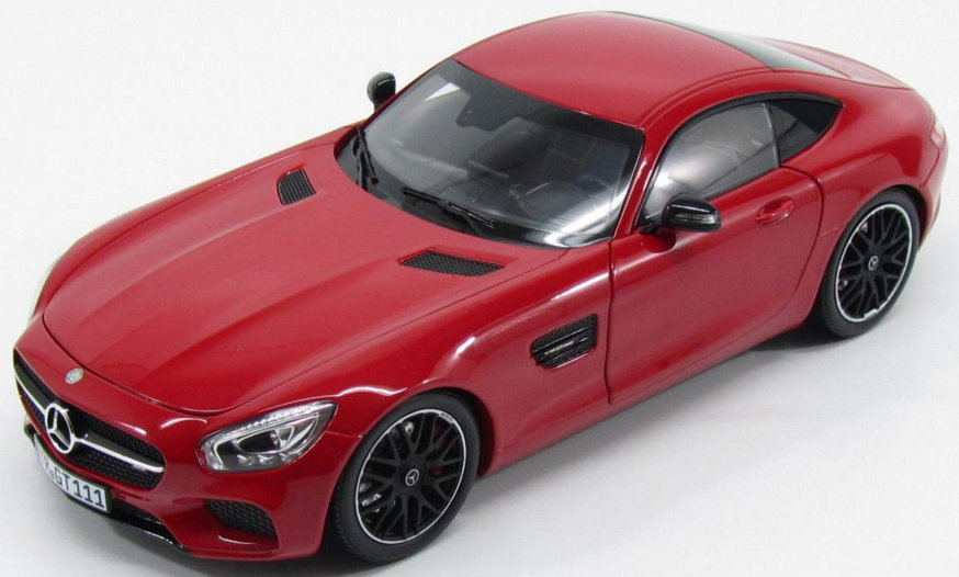 183496 NOREV NOREV 1/18 MERCEDES-AMG GT (С190) 2015 red metallic