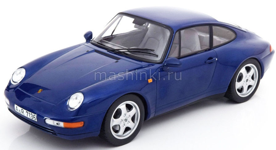 187593 14+ NOREV NOREV 1/18 PORSCHE 911 (993) 1994 Irisblue metallic