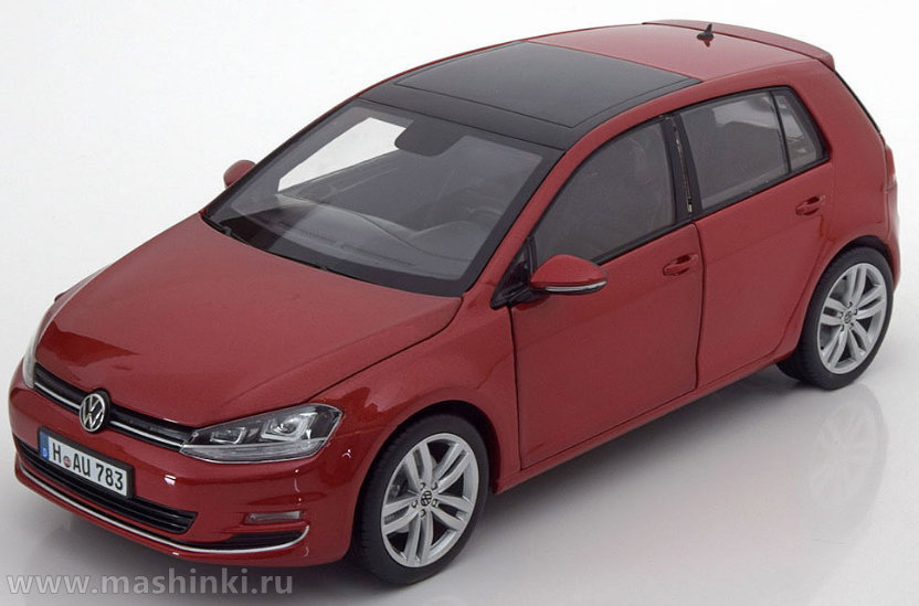 188517 NOREV NOREV 1/18 VW Golf VII (5 дверей) 2013 sunset red