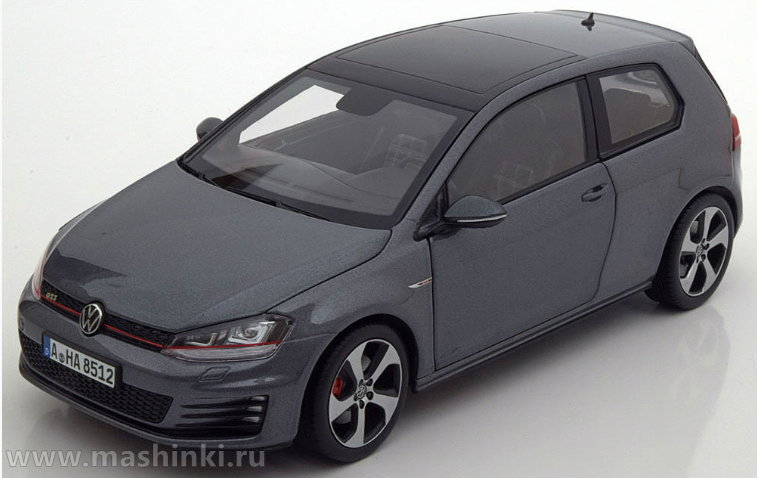 188518 NOREV NOREV 1/18 VW Golf GTI 2013 carbon steel grey