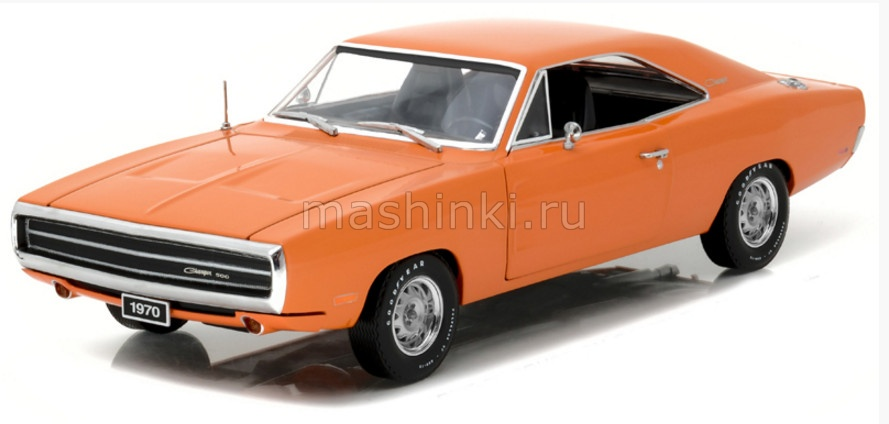 19028 14+ GREENLIGHT GREENLIGHT 1/18 DODGE Charger 1970 Hemi orange