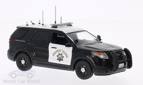 198618 FIRST RESPONSE Ford Police Interceptor Utility, California Highway Patrol 2014