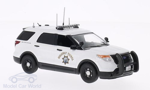 198619 FIRST RESPONSE Ford Police Interceptor Utility, California Highway Patrol, CHP K9 & Commericial Vehicle Inspection 2014