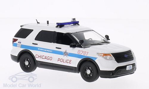 198621 FIRST RESPONSE Ford Police Interceptor Utility, Chicago Police Department 2014
