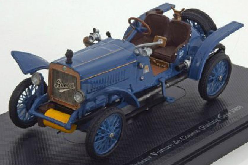 199187 DONGGUAN BRASIER Voiture de Course 1908 blue