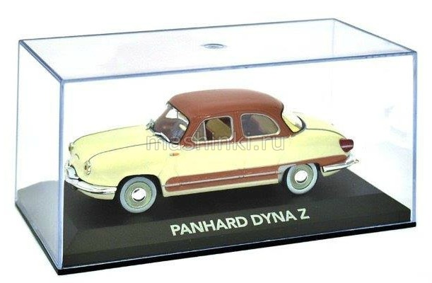 2147207 14+ ATLAS ATLAS 1/43 PANHARD DYNA Z 1958 yellow-brown