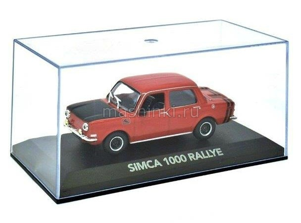 2147213 14+ ATLAS ATLAS 1/43 SIMCA 1000 Rallye 1964 red-black