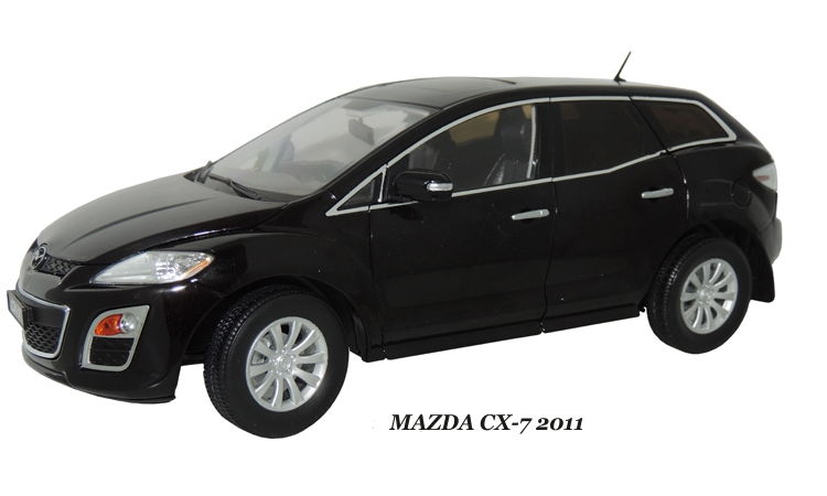 2262PU PAUDI MODEL Mazda CX-7 2011 Black