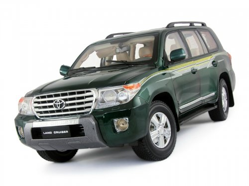 2275GE PAUDI MODELS Toyota Land Cruiser 200 2012 зеленый