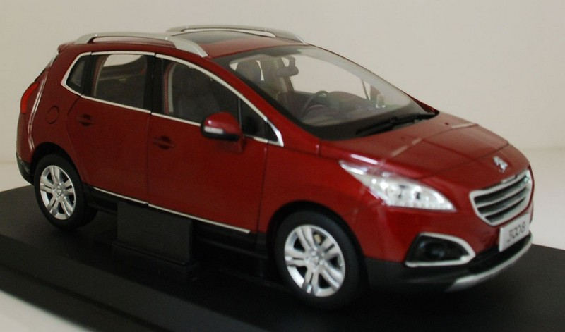 2284R PARAGON MODELS Peugeot 3008 red