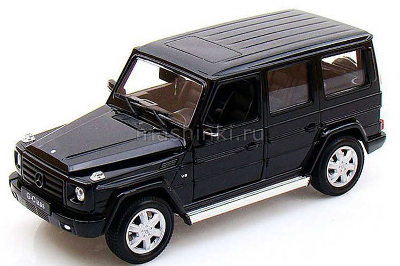 24012BL 03+ WELLY WELLY 1/24 MERCEDES-BENZ G-Class (W463) 2009 black