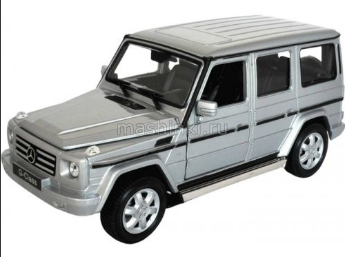 24012SL 03+ WELLY WELLY 1/24 MERCEDES-BENZ G-Class (W463) 2009 silver
