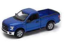 24063BL 03+ WELLY WELLY 1/24 FORD F-150 2015 metallic blue