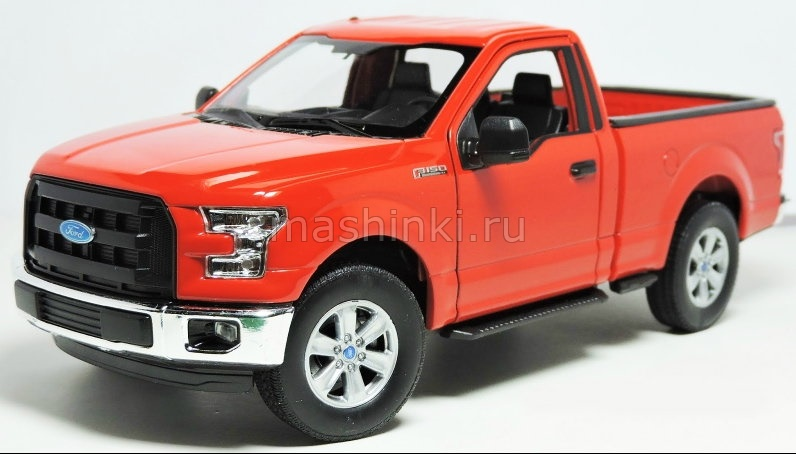24063R 03+ WELLY WELLY 1/24 FORD F-150 2015 red