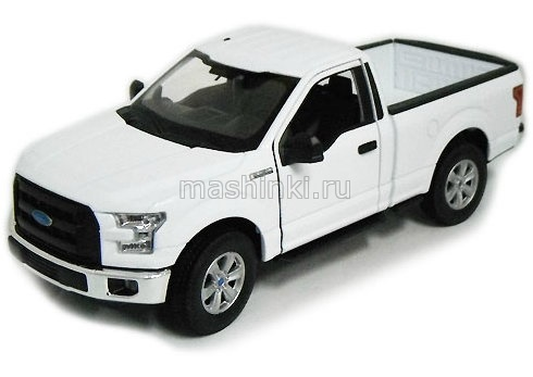24063WH 03+ WELLY WELLY 1/24 FORD F-150 2015 white