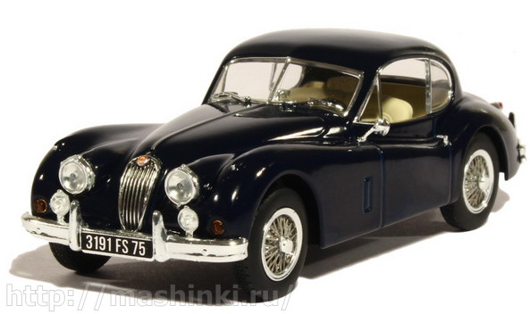 270031 NOREV NOREV 1/43 JAGUAR XK140 Coupe 1957 dark blue