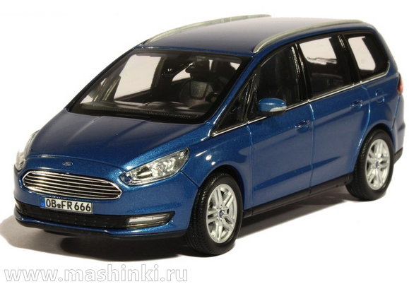 270539 NOREV NOREV 1/43 FORD Galaxy IV 2015 blue metallic