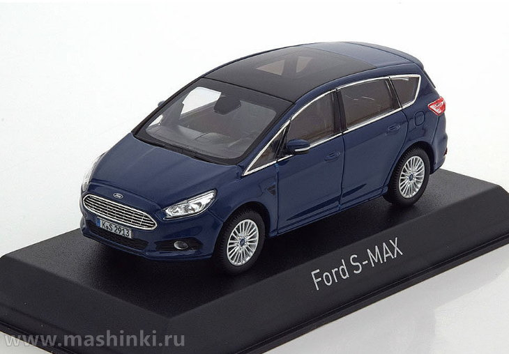 270547 NOREV NOREV 1/43 FORD S-Max 2015 blue metallic