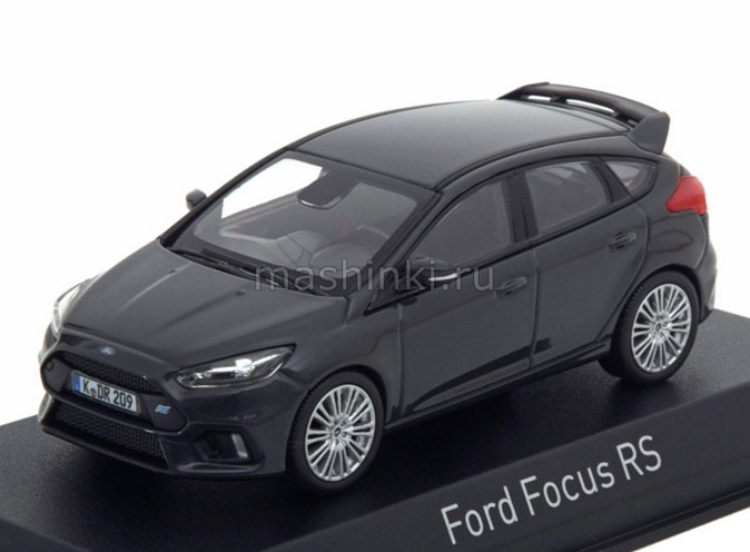 270552 14+ NOREV NOREV 1/43 FORD Focus RS 2016 grey