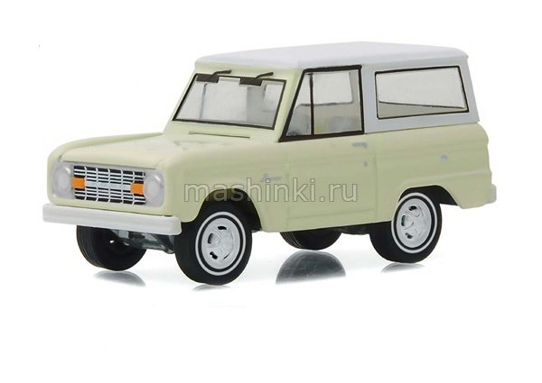 27890B 14+ GREENLIGHT GREENLIGHT 1/64 FORD Bronco 50 Years 1966 beige