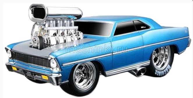 32239 03+ MAISTO MAISTO 1/24 CHEVROLET Nova SS 1967 серия Muscle Machines