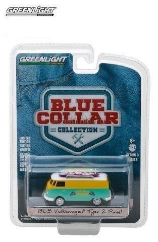 35080C 14+ GREENLIGHT GREENLIGHT 1/64 VW T2 Van
