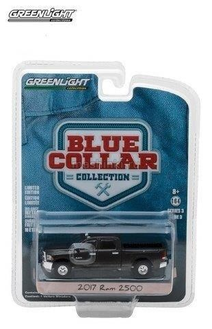 35080F 14+ GREENLIGHT GREENLIGHT 1/64 DODGE RAM 2500 пикап 2017 Black