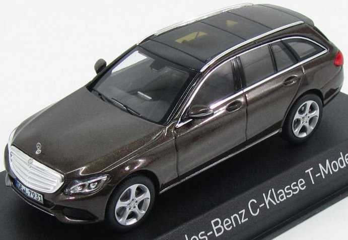351322 NOREV NOREV 1/43 MERCEDES-BENZ C-Klasse Estate Exclusive (S205) 2014 brown metallic
