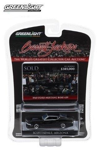 37130C 14+ GREENLIGHT GREENLIGHT 1/64 FORD Mustang BOSS 429 1969 Black