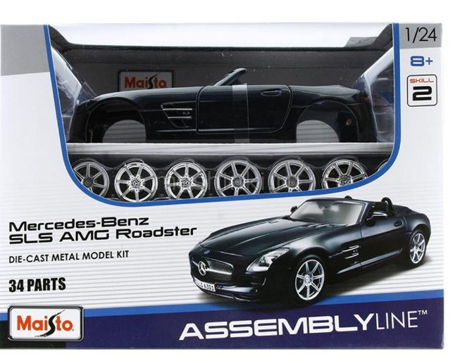 39278 03+ MAISTO MAISTO Kit 1/24 MERCEDES-BENZ SLS AMG Roadster