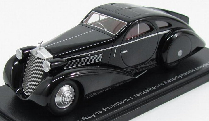 43230 BOS ROLLS ROYCE Phantom I Jonckheere Aerodynamic Coupe 1935 black