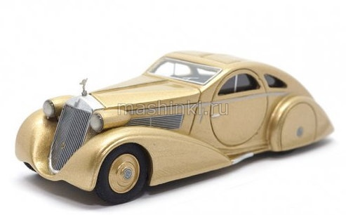 43231 14+ BOS (Best of Show) BOS ROLLS ROYCE Phantom I Jonckheere Aerodynamic Coupe 1935 gold