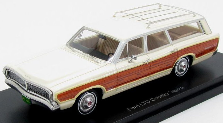43615 BOS FORD LTD Country Squire 1968 light beige-wood optics