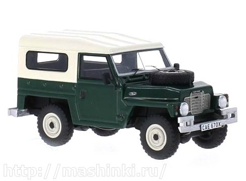43670 BOS (Best of Show) BOS 1/43 LAND ROVER Series III Lightweight 1982 matt green