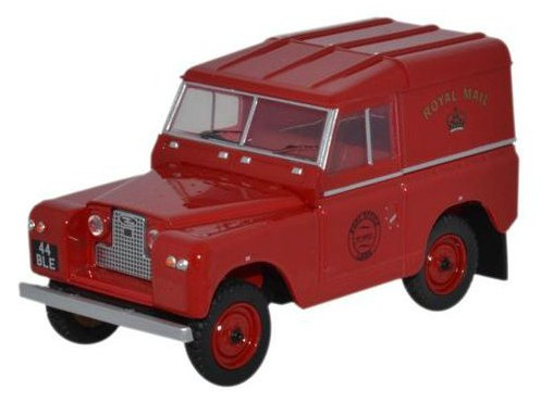 43LR2S001 OXFORD OXFORD 1/43 LAND ROVER series II SWB Hard Top Royal Mail 1970