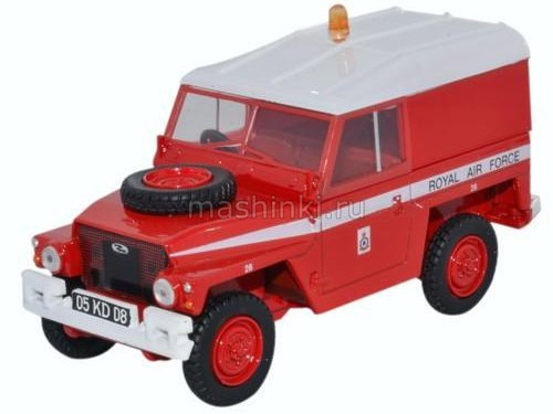 43LRL003 14+ OXFORD OXFORD 1/43 LAND ROVER Series III 1/2 Ton Lightweight Hard Top RAF эскадрилия Red Arrows 1972