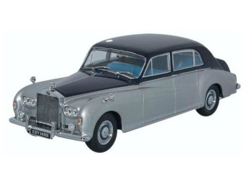 43RRP5001 OXFORD OXFORD 1/43 ROLLS-ROYCE Phantom V James Young 1962 navy blue/silver