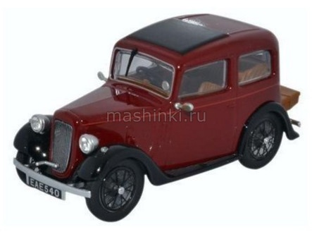 43RUB001 14+ OXFORD OXFORD 1/43 AUSTIN Ruby Saloon 1936 maroon