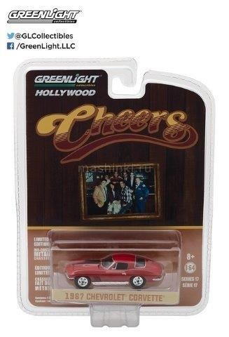 44770B 14+ GREENLIGHT GREENLIGHT 1/64 CHEVROLET Corvette Stingray 1967 (т/с Весёлая компания)